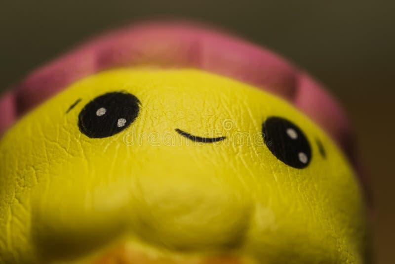Fim antistress mole ador?vel do brinquedo acima fotos de stock