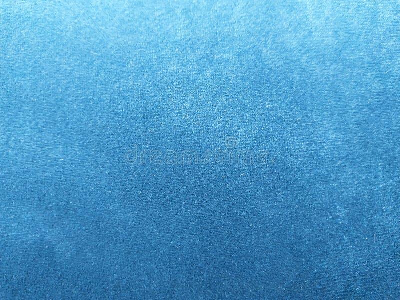 Fim azul abstrato do fundo da textura de veludo acima fotografia de stock