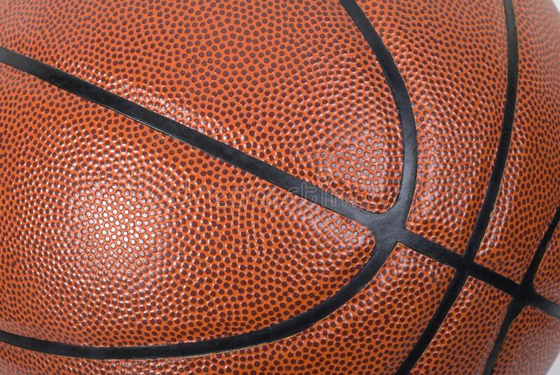 Fim cheio do frame do basquetebol acima fotos de stock