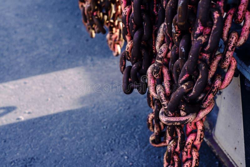 Fim coral vivo oxidado da corrente acima Fundo fotos de stock