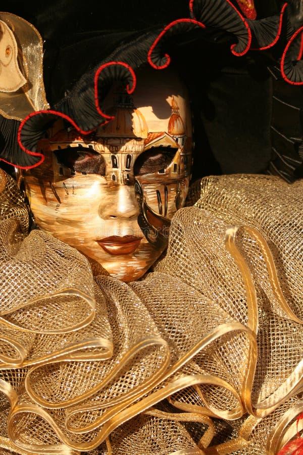 Fim da máscara de Carnivale acima imagem de stock royalty free