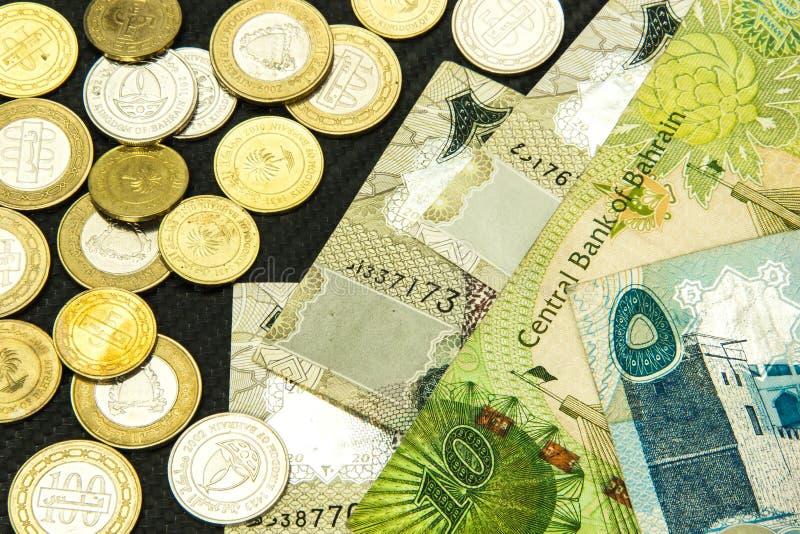 Fim da moeda de Barém acima fotos de stock royalty free