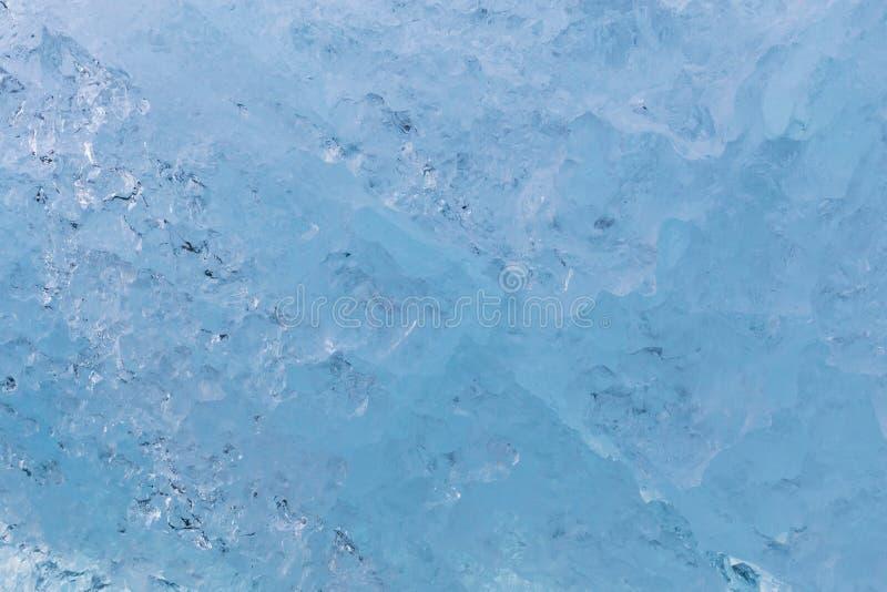 Fim da textura da parede do gelo acima foto de stock royalty free