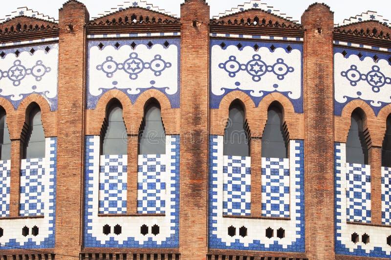 Fim da textura do fundo da parede do mosaico acima imagens de stock royalty free