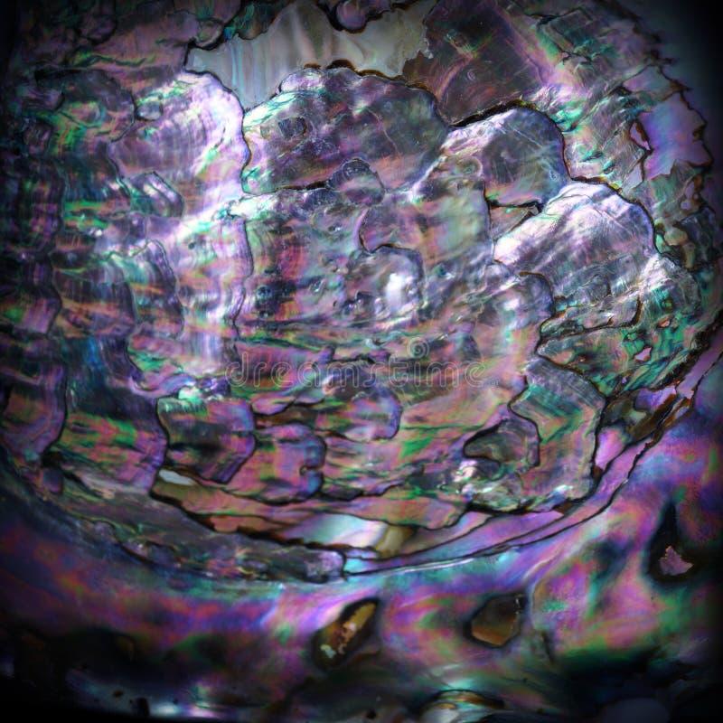 Fim da textura do nácar de pedra preciosa acima fotografia de stock