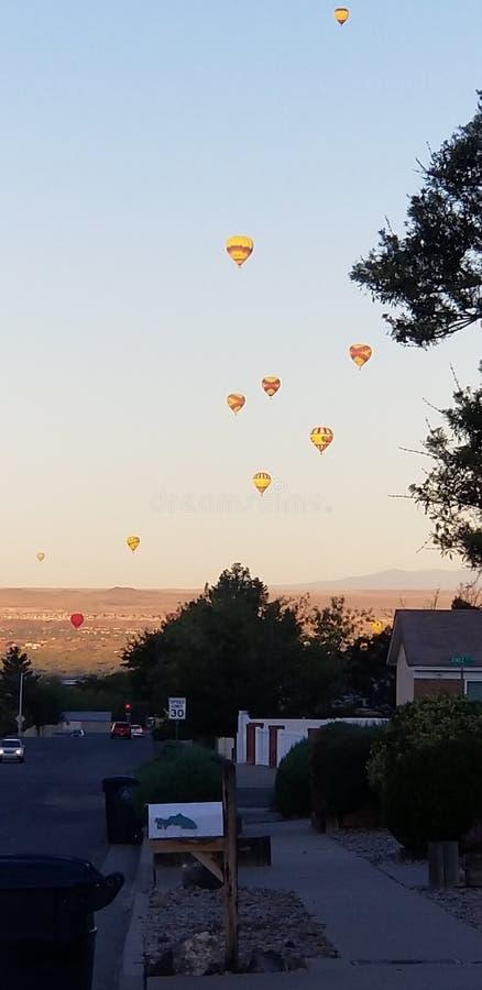 Fim de semana Albuquerque de Balloonfiesta foto de stock