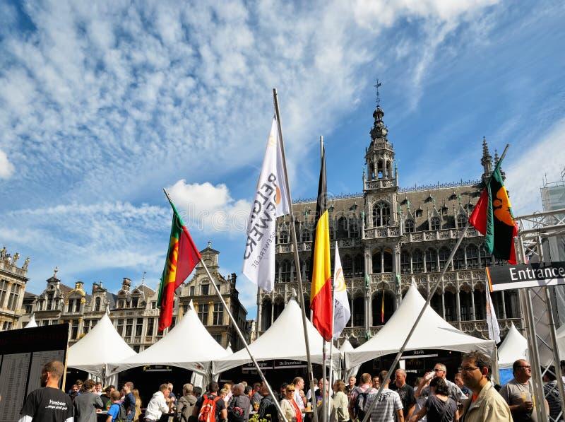 Fim de semana belga da cerveja imagens de stock royalty free