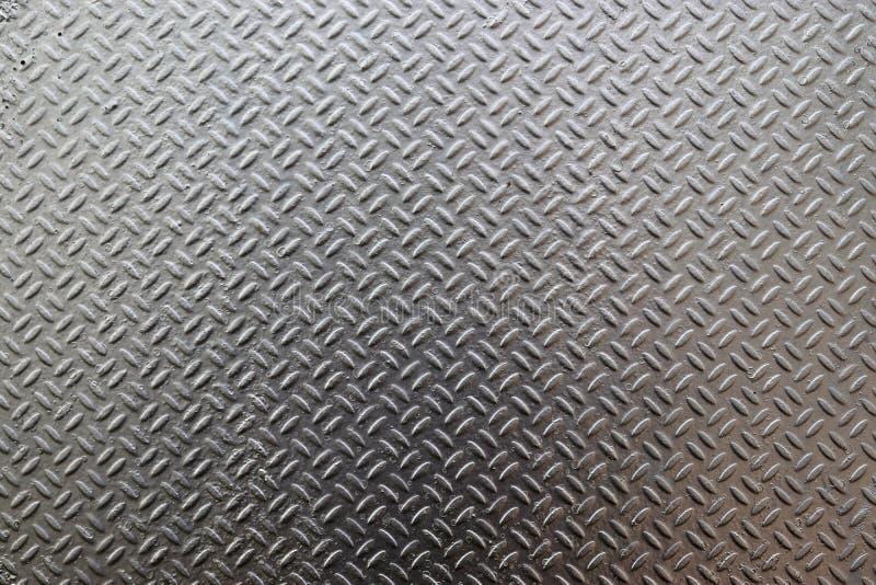 Fim detalhado acima da vista no metal e das texturas de superfície de aço na alta resolução imagens de stock