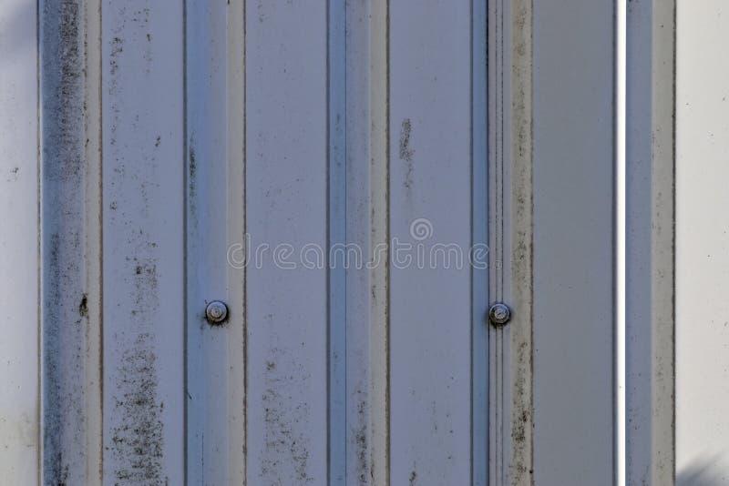 Fim detalhado acima da vista no metal e das texturas de superfície de aço na alta resolução fotos de stock