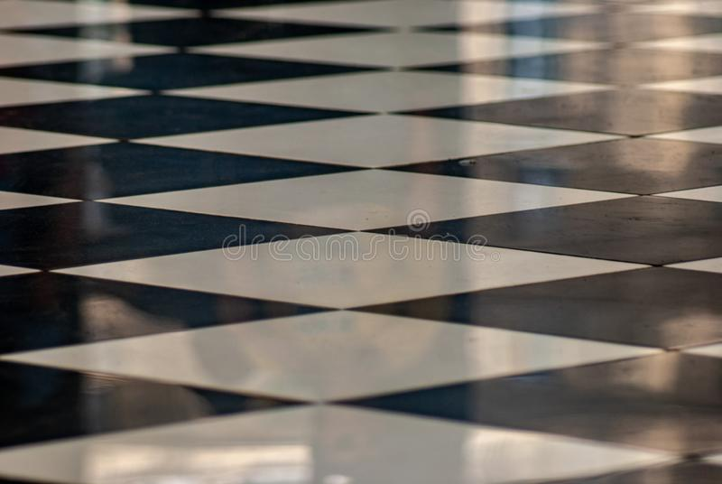 Fim do assoalho telhado da xadrez imagem de stock royalty free