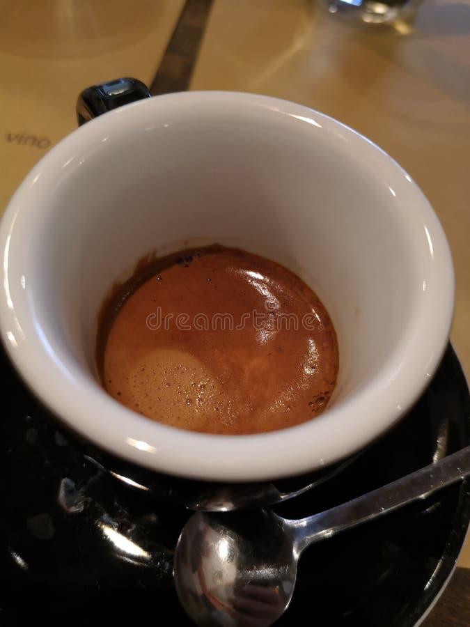 Fim do café do café acima da foto imagem de stock