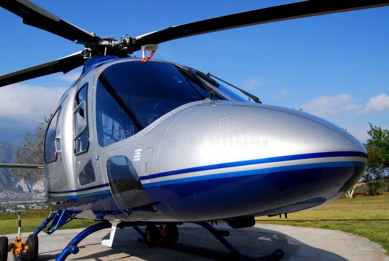 Fim do helicóptero do VIP acima imagem de stock