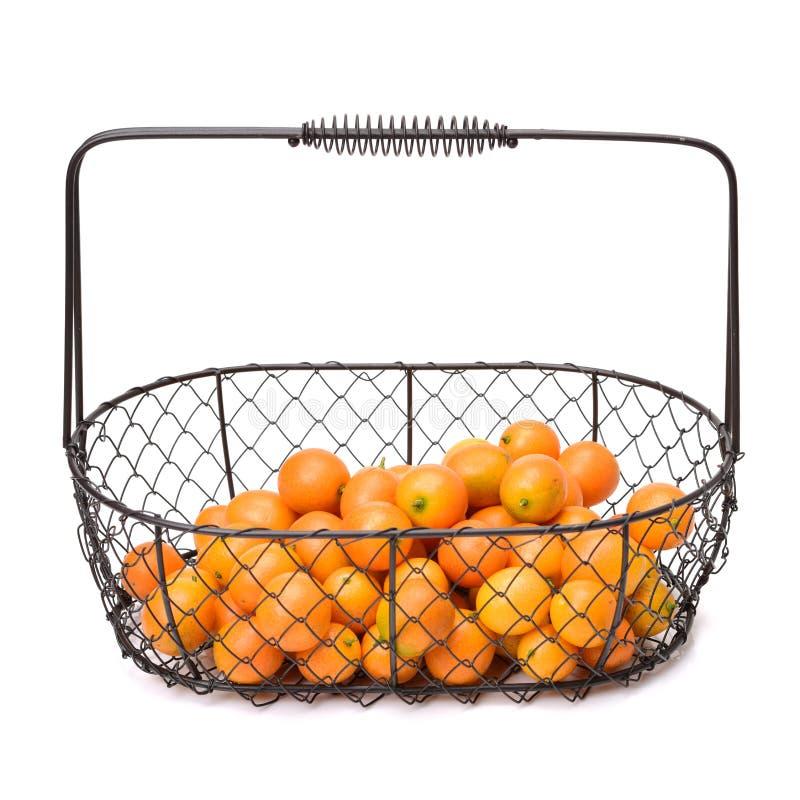 Fim do kumquat do doce e do suco acima fotos de stock royalty free