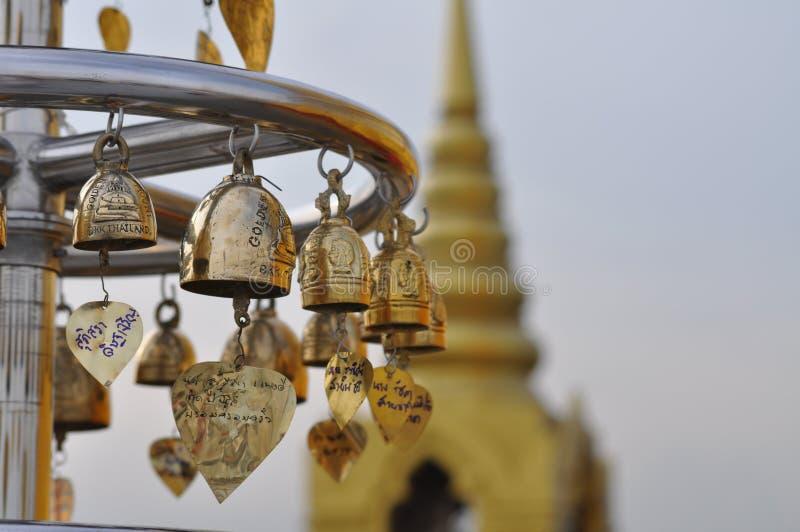 Fim do templo budista acima fotografia de stock royalty free