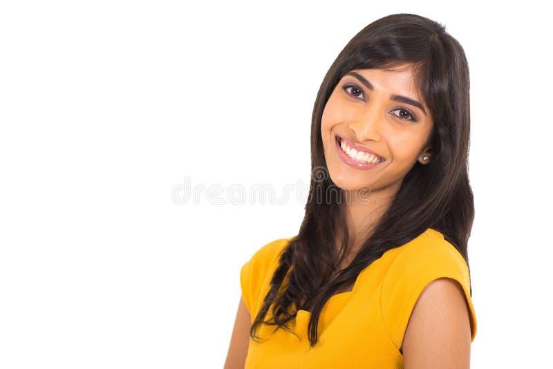 Fim indiano da mulher acima imagem de stock