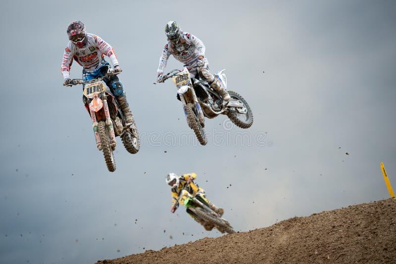 FIM Motocross World Championship MX3 2011 Senkvice Editorial Image