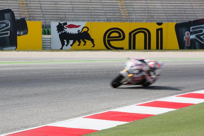 FIM Superbike Światowy mistrzostwo - Bezpłatnej praktyki 3th sesja zdjęcie royalty free