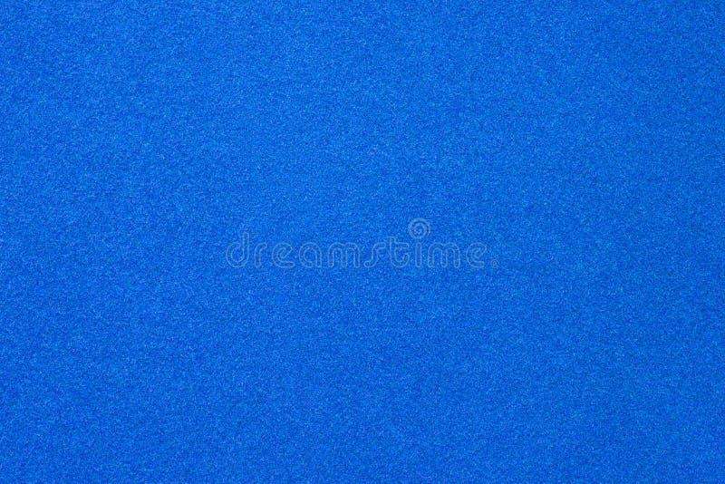 Fin bleue de papier de velours  photos stock