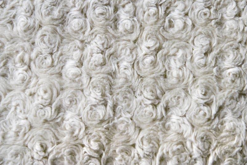 Fin bouclée de texture de laines vers le haut photo stock