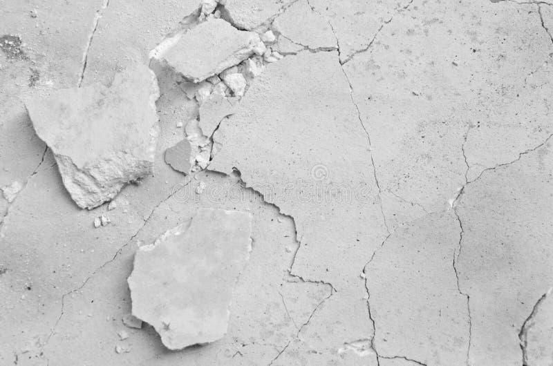 Fin cassée blanche de modèle de panneau de gypse  photo libre de droits
