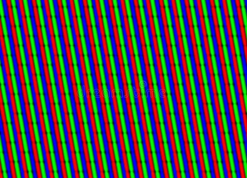 Fin d'écran de TV vers le haut images libres de droits
