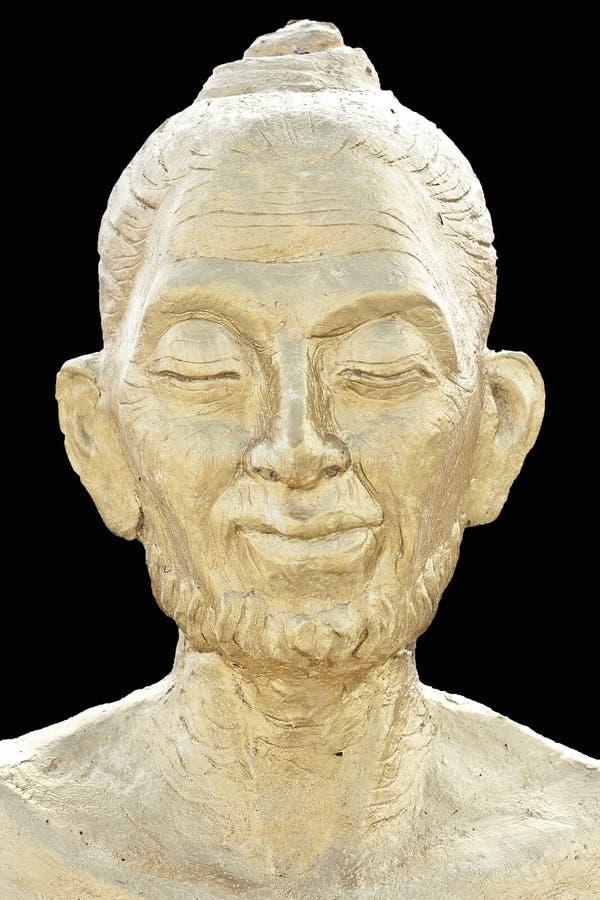 Fin de Bouddha vers le haut image libre de droits