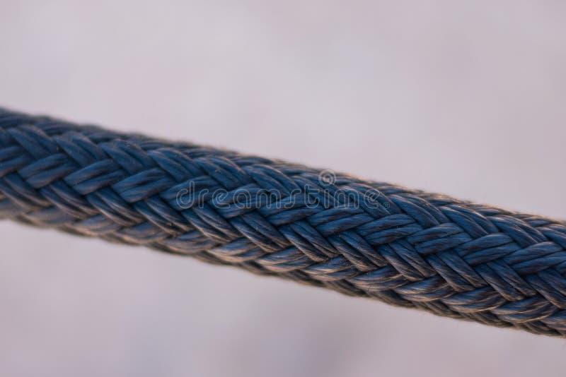 Fin de bride de corde  image stock
