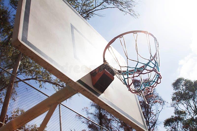 Fin de d?tail de cercle de basket-ball  photo libre de droits