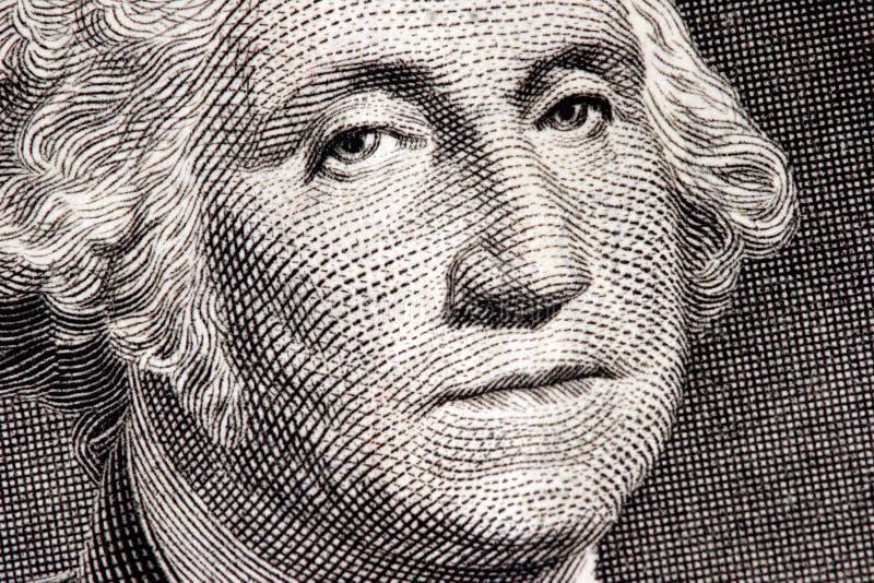 Fin de George Washington vers le haut photographie stock