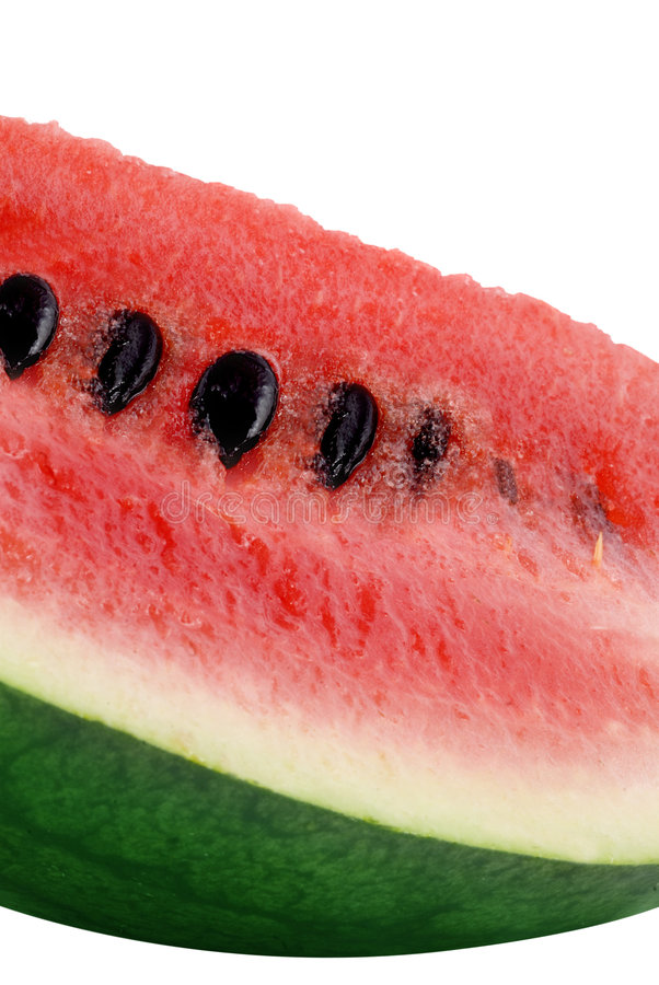 Fin de melon d'eau vers le haut image libre de droits