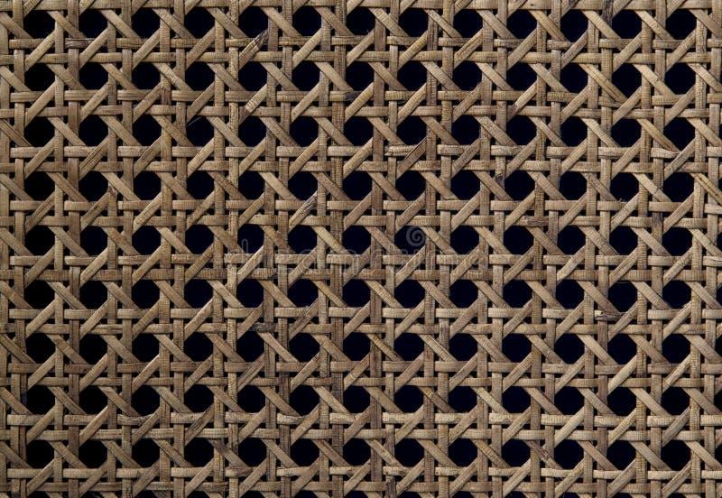 Fin de modèle et de texture de rotin  photographie stock