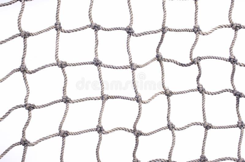 Fin de réseau de poissons vers le haut photo stock