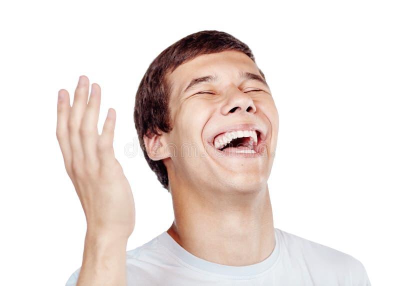 Fin de rire  image libre de droits