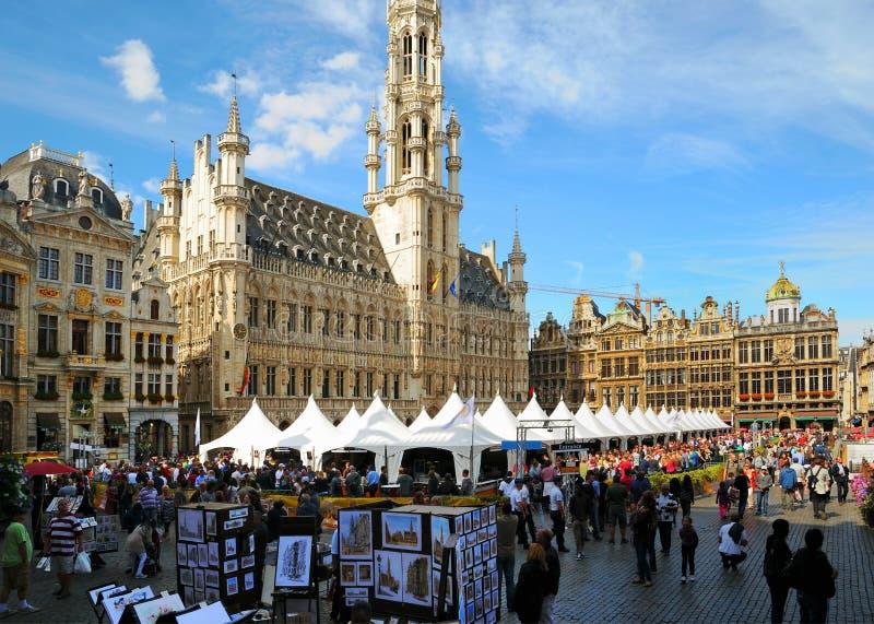 Fin de semana belga anual de la cerveza fotos de archivo