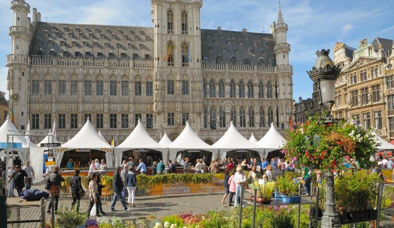 Fin de semana belga de la cerveza fotografía de archivo