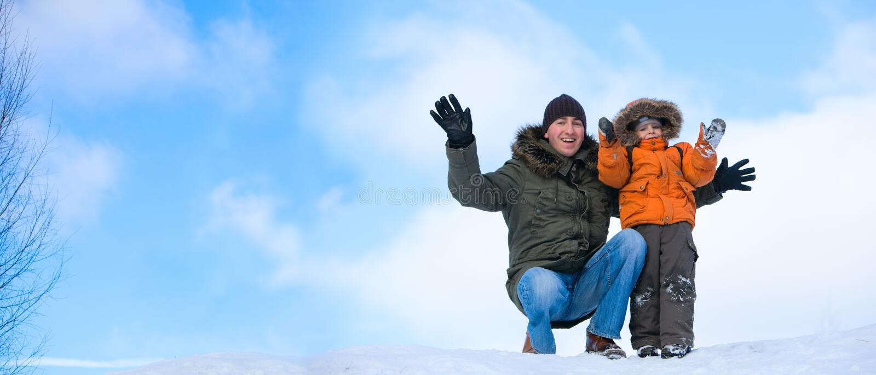 Fin de semana del invierno imagen de archivo libre de regalías
