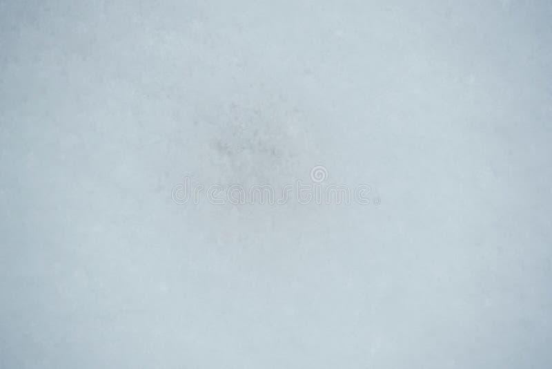 Fin de surface de neige  photographie stock libre de droits