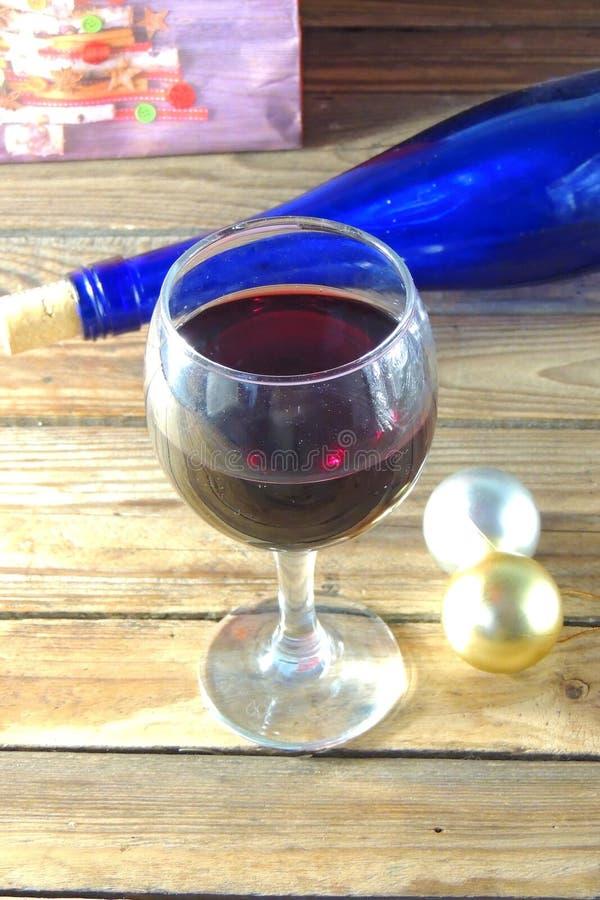 Fin de vin rouge vers le haut photographie stock