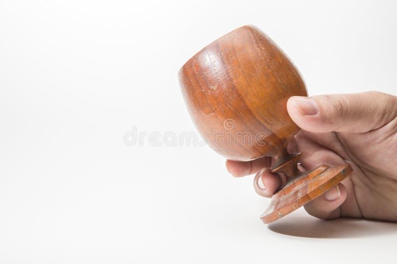 fin en bois d'image de Graal  photo stock