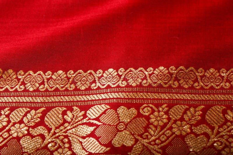Fin indienne de sari vers le haut photos libres de droits