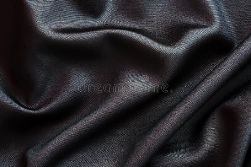 Fin noire de tissu  images stock