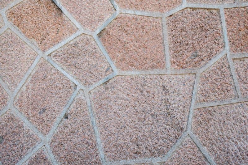 Fin non géométrique rouge de plancher de mur de modèle de pierre de ressource graphique de texture  image stock