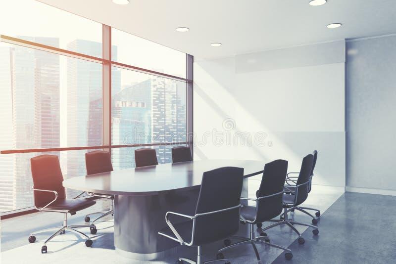 Fin panoramique de lieu de réunion, modifié la tonalité illustration de vecteur