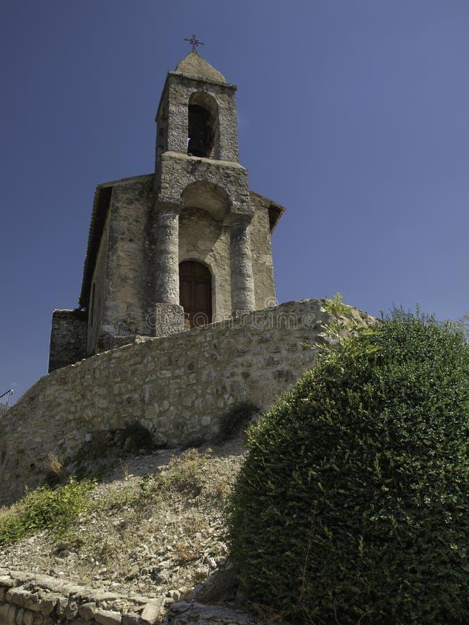 Fin Pradelle France de chapelle photos stock