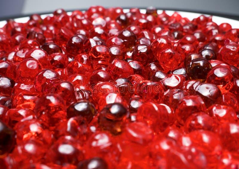 Fin rouge de caviar sur un fond blanc photo libre de droits