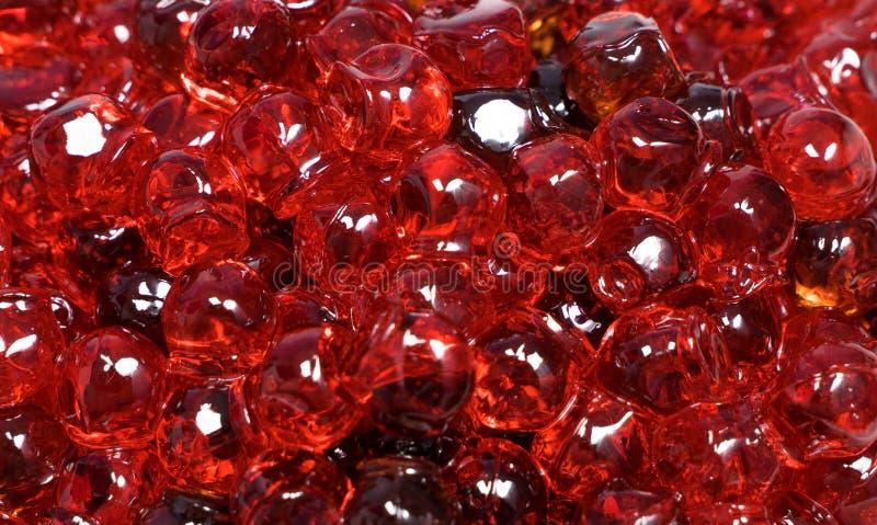 Fin rouge de caviar vers le haut photos libres de droits