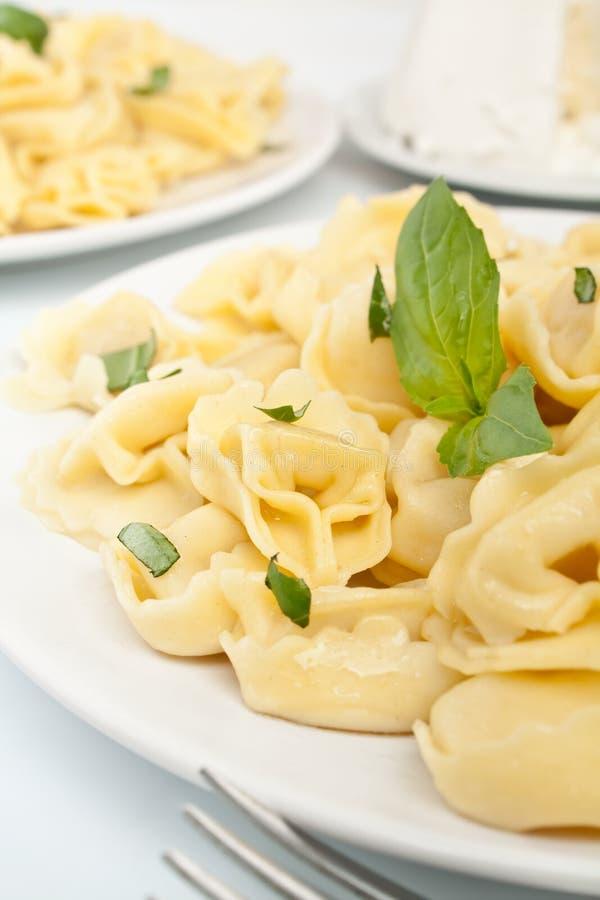 Fin simple de Tortellini  image libre de droits