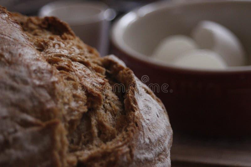 Fin vers le haut de pain photo stock