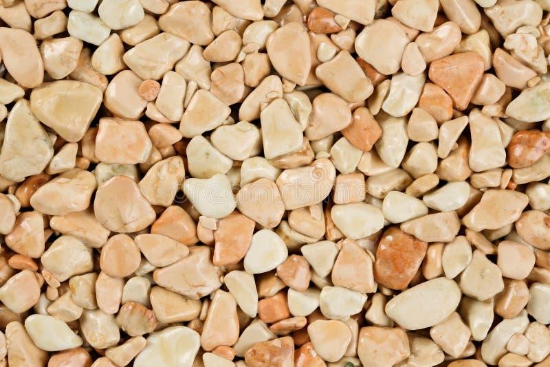 Fin vers le haut de tapis en pierre naturel, beige extrême et crème dans différentes nuances et teintes de beige Revêtement de pi photos stock