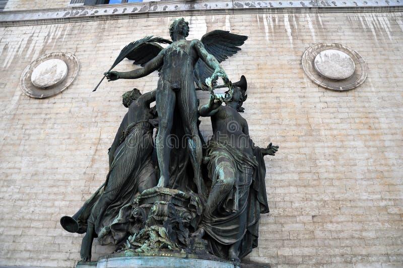 Fina Art Statue, kungligt museum av konster av Bryssel arkivfoton